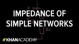 Impedance of simple networks
