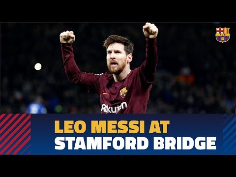 [INSIDE VIEW] Following Leo Messi against Chelsea