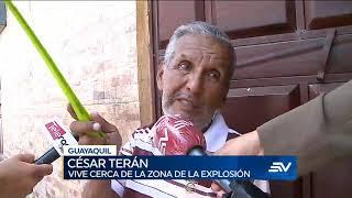 Alarma en norte de Guayaquil tras explosión de 2 artefactos