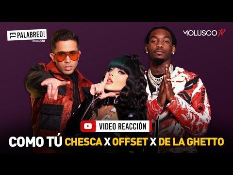 """Muy dura Cheska junto a Offset y De La Ghetto """"COMO TÚ ( DIRTY ) #ElPalabreo reacciona"""