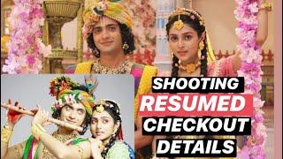 RadhaKrishn to air fresh episodes from June; RESUMES shooting in Umbergaon   Checkout details   - TELLYCHAKKAR