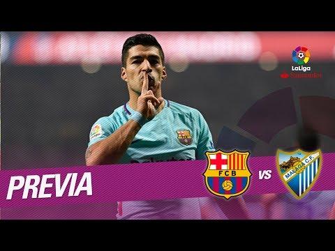 Previa FC Barcelona vs Málaga CF
