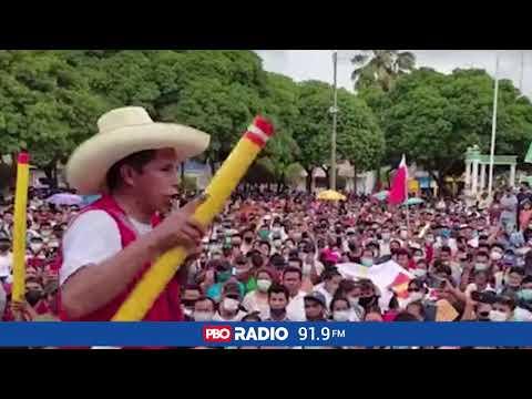 """ELECCIONES 2021 - PEDRO CASTILLO: """"LOS MEDIOS DE COMUNICACION SOLO SIRVEN PARA TERRUQUEARNOS"""