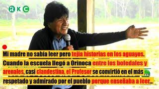 Evo Morales cuenta su vivencia sindical y del campo antes de ser presidente - Las Elecciones en Perú