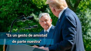 Donald Trump tiene abierta la invitación para que visite México: AMLO