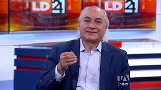 Los Desayunos 24 Horas, entrevista al analista político Marcelo Larrea