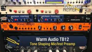 Warm Audio TB12 Tone Shaping Preamp - Quick n' Dirty
