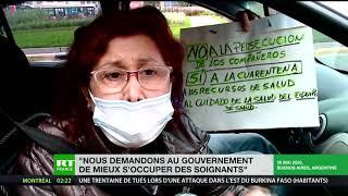Argentine : affrontements entre manifestants anti-confinement et soignants