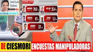 Bolivia   Parodita Aris Las ENCUESTAS MANIPULADORAS de Ciesmori a las Elecciones Su nacionales