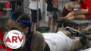 Convención de tatuajes causa sensación en Brasil   Al Rojo Vivo   Telemundo
