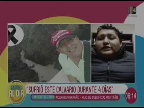 HABLÓ EL HIJO DEL SUB OFICIAL MAGUILA