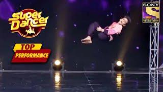 Akshit और Vivek ने किया Chroma Keying की मदद से यह Magical Act  | Super Dancer | Top Performance - SETINDIA