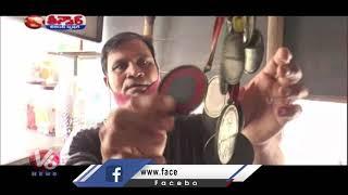 Former Boxer Suresh Kumar Runs Pan Shop In UP | V6 Teenmaar News - V6NEWSTELUGU