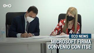 MICROSOFT firma convenio con Instituto Técnico Superior Especializado | ECO News