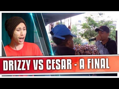 connectYoutube - REACT César [ES] vs Drizzy [MG] (Final) - DUELO DE MCS NACIONAL 2017