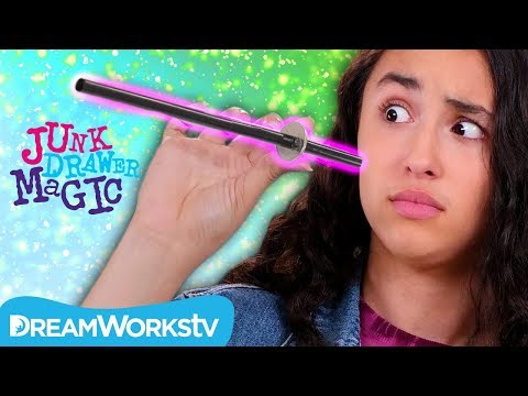 Straw Through Quarter Trick | JUNK DRAWER MAGIC