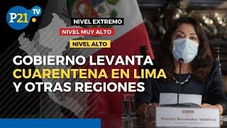 Coronavirus Perú: Gobierno anuncia reapertura de restaurantes y comercios, pero con aforo mínimo