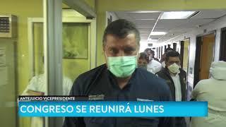 Congreso debe seguir proceso de antejuicio en contra del vicepresidente Guillermo Castillo