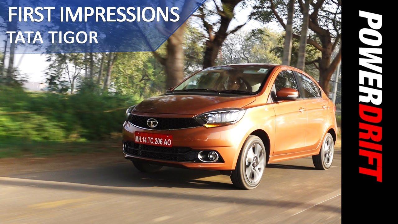 Tata Tigor : First Drive : PowerDrift