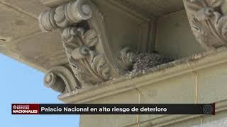 Revelan las causas del deterioro del Palacio Nacional de la Cultura