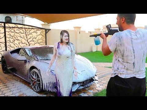 CAR WASH PRANK !!!