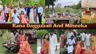 Rana Daggubati & Miheeka Bajaj Roka Function | Rana Daggubati And Miheeka Engagement | IG Telugu - IGTELUGU