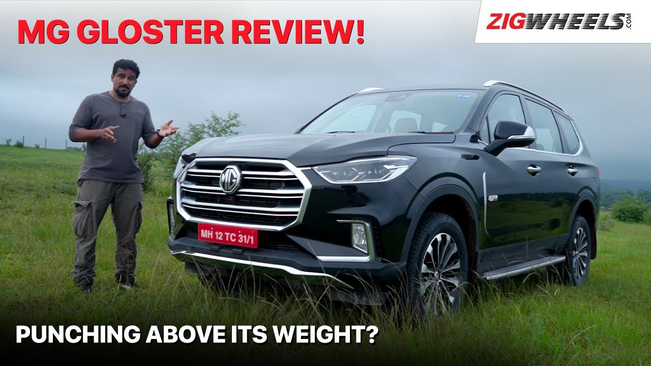 🚙 MG Gloster SUV Review | Big Brawny Benchmark! | Zigwheels.com