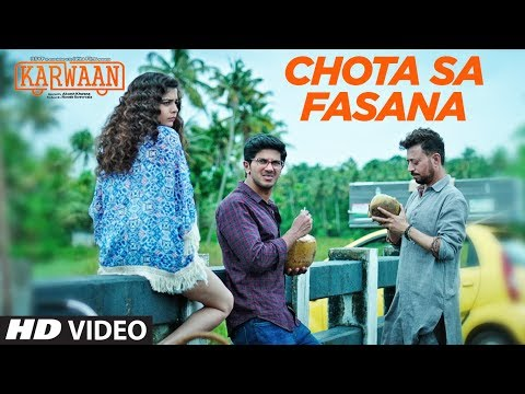 CHOTA SA FASANA LYRICS - Arijit Singh | Karwaan Movie Song
