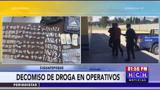 """Cae """"El Potro"""", presunto distribuidor de drogas en #Siguatepeque"""