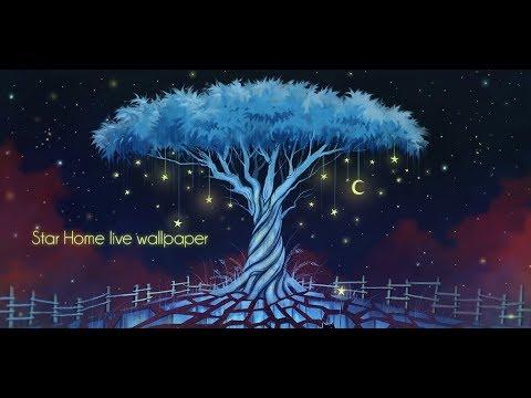 Star Home Glowing Magic Land Live Wallpaper Classements Dappli Et
