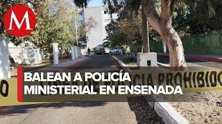 Asesinan a policía ministerial en Baja California