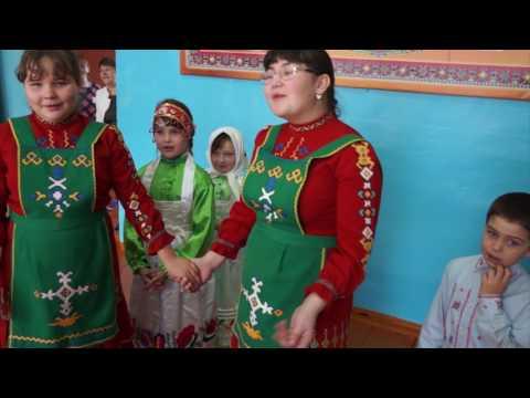 Детские чувашские игры. Игра в поезд