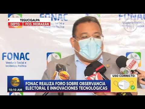 Fonac realiza foro sobre observancia electoral y tecnologías