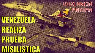 Venezuela prueba sistemas misilisticos prestos para el resguardo a llegada de petroleros iraníes