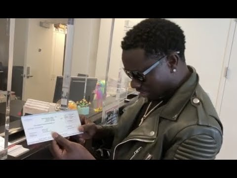 Michael Blackson Proves He Doesnt Get Paid From
