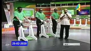Loteria Nacional / martes 25 de febrero