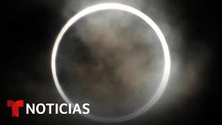 EN VIVO: Así se ve el eclipse solar
