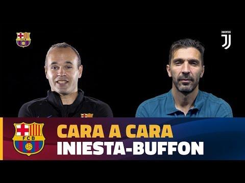 CARA A CARA | Andrés Iniesta vs Gigi Buffon [CAT]