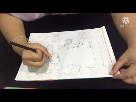 วิชาศิลปะป.2-เรื่องการวาดภาพเก