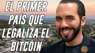NAYIB BUKELE anuncia la LEGALIZACIÓN del BITCOIN en EL SALVADOR