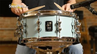 Sonor 6.5x14 SQ1 Snare Drum Cruiser Blue-Quick 'n' Dirty