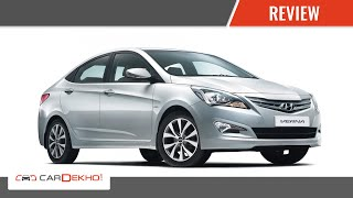 Hyundai 4S Fluidic Verna I Review of Features   CarDekho.com