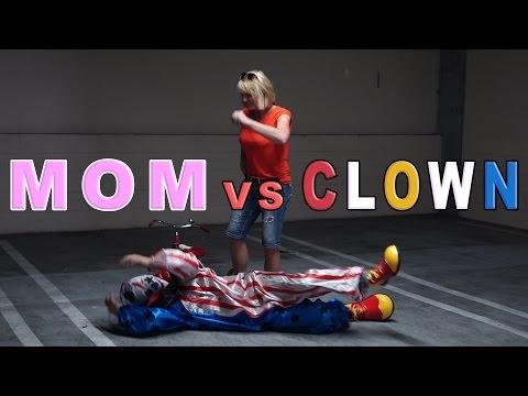 MOM VS. KILLER CLOWN!