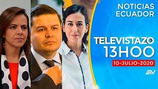NOTICIAS ECUADOR: Televistazo 13h00 10/julio/2020