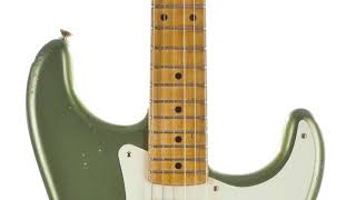 Fender 50's Stratocaster Relic Moss Green Electric #CZ523404 Quick 'n' Dirty