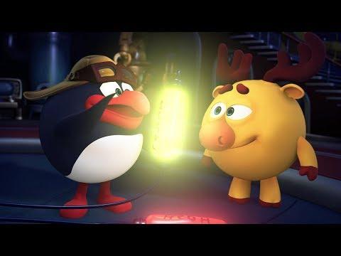 Кадр из мультфильма «Пин-код : Нобелевский сезон. Яркий след в истории»