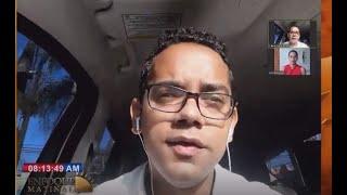 Entrevista al candidato a diputado Jonathan Liriano en Enfoque Matinal