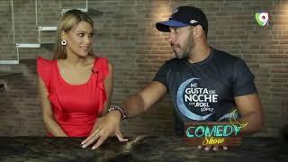 Caroline Aquino en el Comedy Show de Me Gusta de Noche