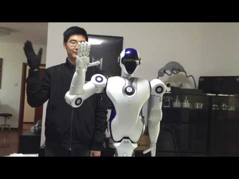 Teleoperate Master Slave Robot Using Self Designed Fully Wireless Motion Capture Suit