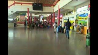 Aumenta afluencia de personas en la terminal bimodal de Santa Cruz